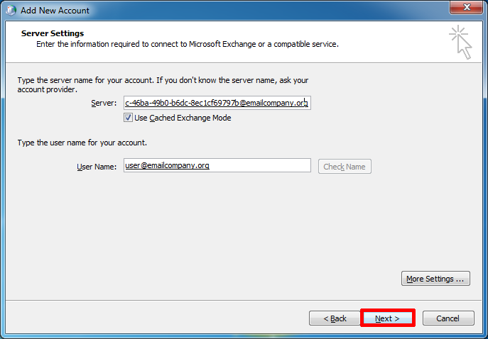 how to fix enter network password in outlook 2007